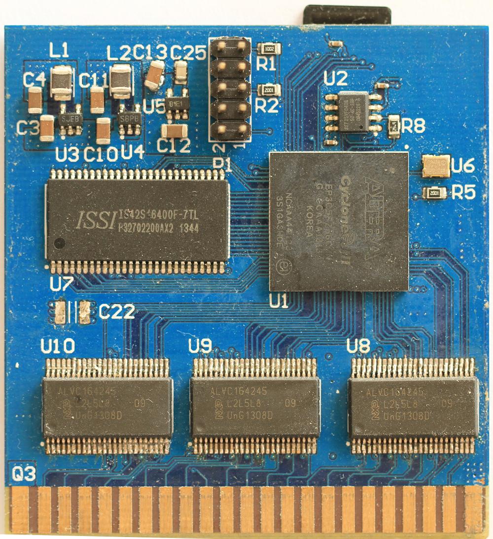 SNES flash cartridge